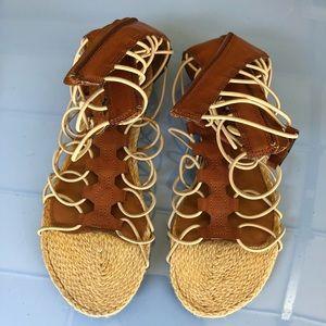 Mia Lace sandals